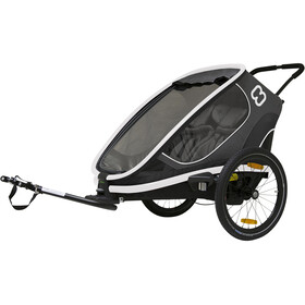 Hamax Outback Bike Trailer grey
